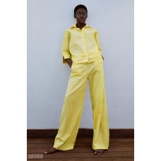 Yellow suit of the current shade