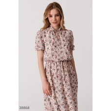 Airy floral dress