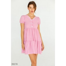 Delicate pink dress