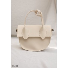 Bag with decorative knot