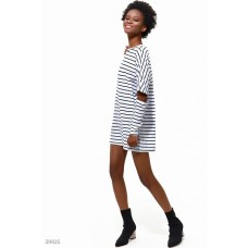 Trendy tunic with slits