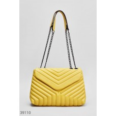 Yellow bag with chain